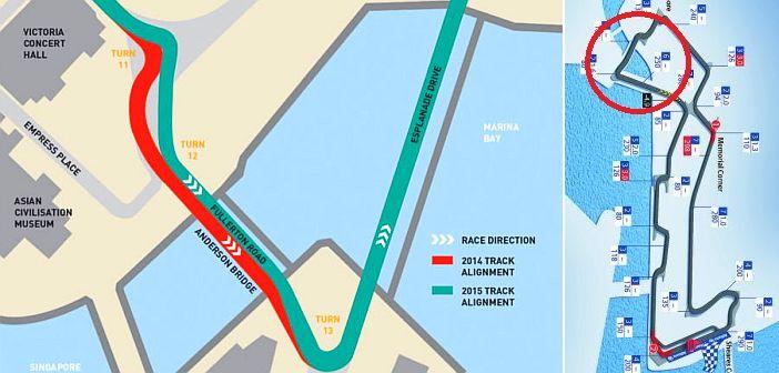 Circuito Callejero De Marina Bay : F flash singapura «retocou o circuito de marina bay